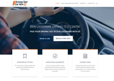 Driving Test Car Hire – Dun Laoghaire Test Centre