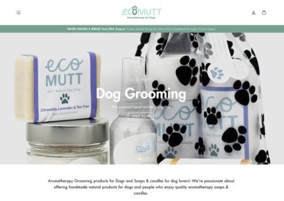 Eco Mutt Ecommerce Website
