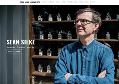 Sean Silke Songwriter Music Portfolio Website